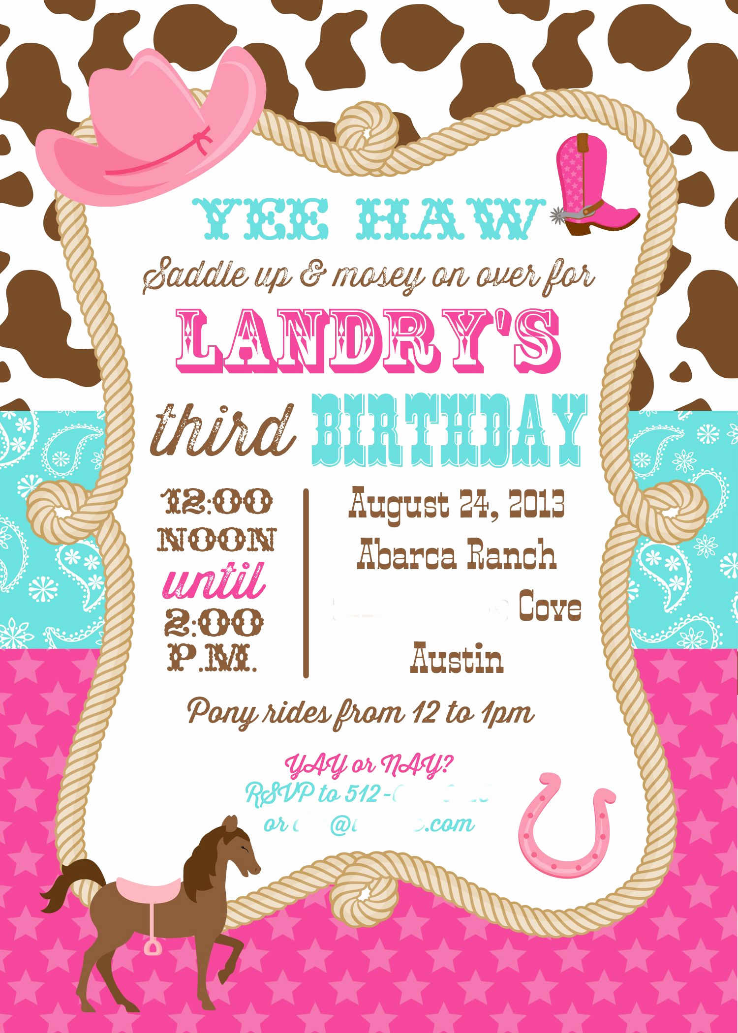 3rd Birthday Invitation Wording Beautiful 3rd Birthday Invite Address Removed1 1 500×2 100