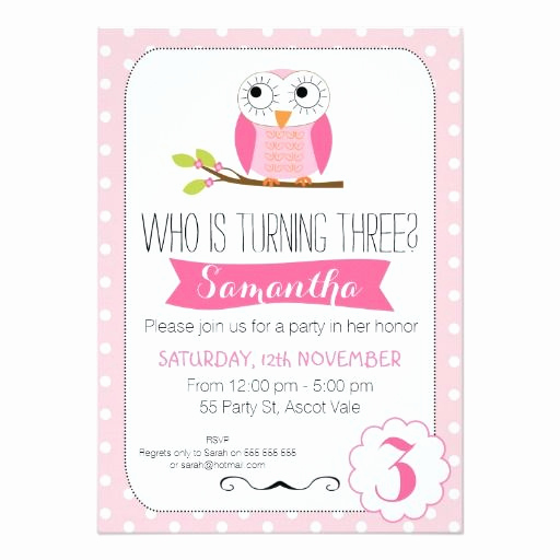 3rd Birthday Invitation Wording Fresh 17 Best Images About 3rd Birthday Party Invitations On