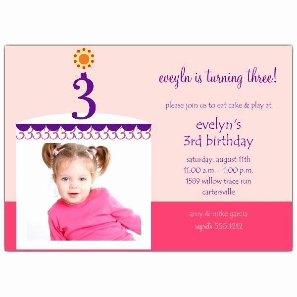 3rd Birthday Invitation Wording Fresh 3rd Birthday Invitation Wording — Birthday Invitation Examples