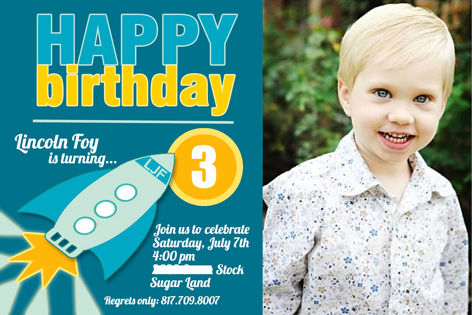 3rd Birthday Party Invitation Wording Inspirational 3rd Birthday Party Invitation Wording
