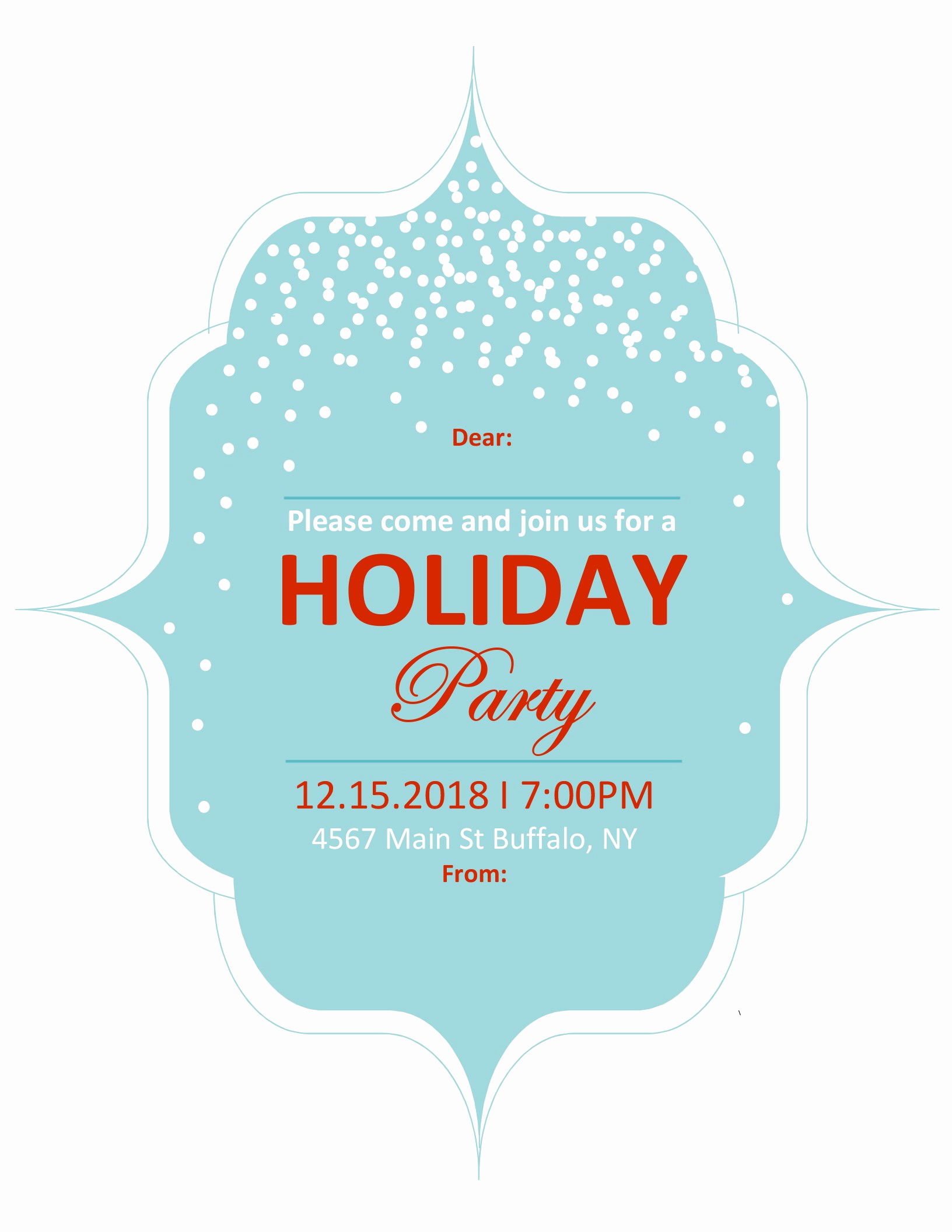 4 Per Page Invitation Template Beautiful Invitations Fice