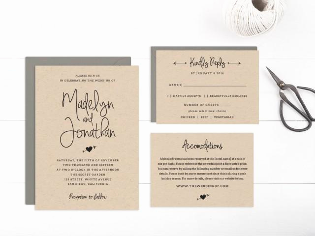 4 Per Page Invitation Template Beautiful Wedding Invitation Template Printable Editable Text and
