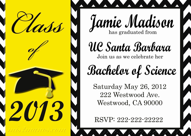 4 Per Page Invitation Template Fresh Graduation Party Invitation Template Graduation Party