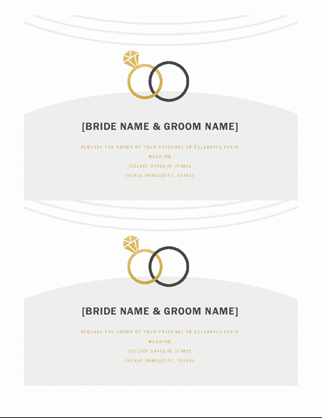 4 Per Page Invitation Template Luxury Invitations Fice
