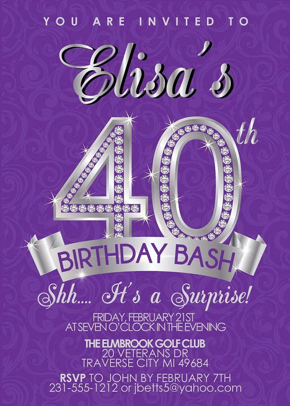 40th Anniversary Invitation Wording Awesome Best 25 40th Birthday Invitation Wording Ideas On