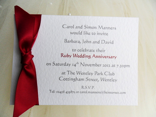 40th Anniversary Invitation Wording Beautiful 25th Wedding Anniversary Invitations Silver Wedding
