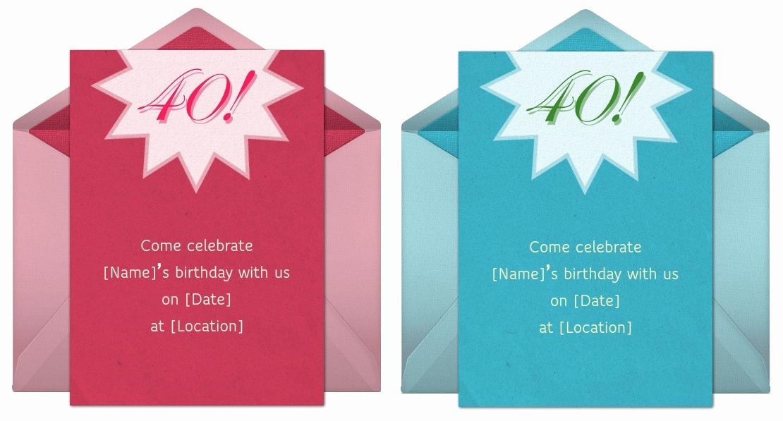 40th Birthday Invitation Wording Best Of 40th Birthday Invitation