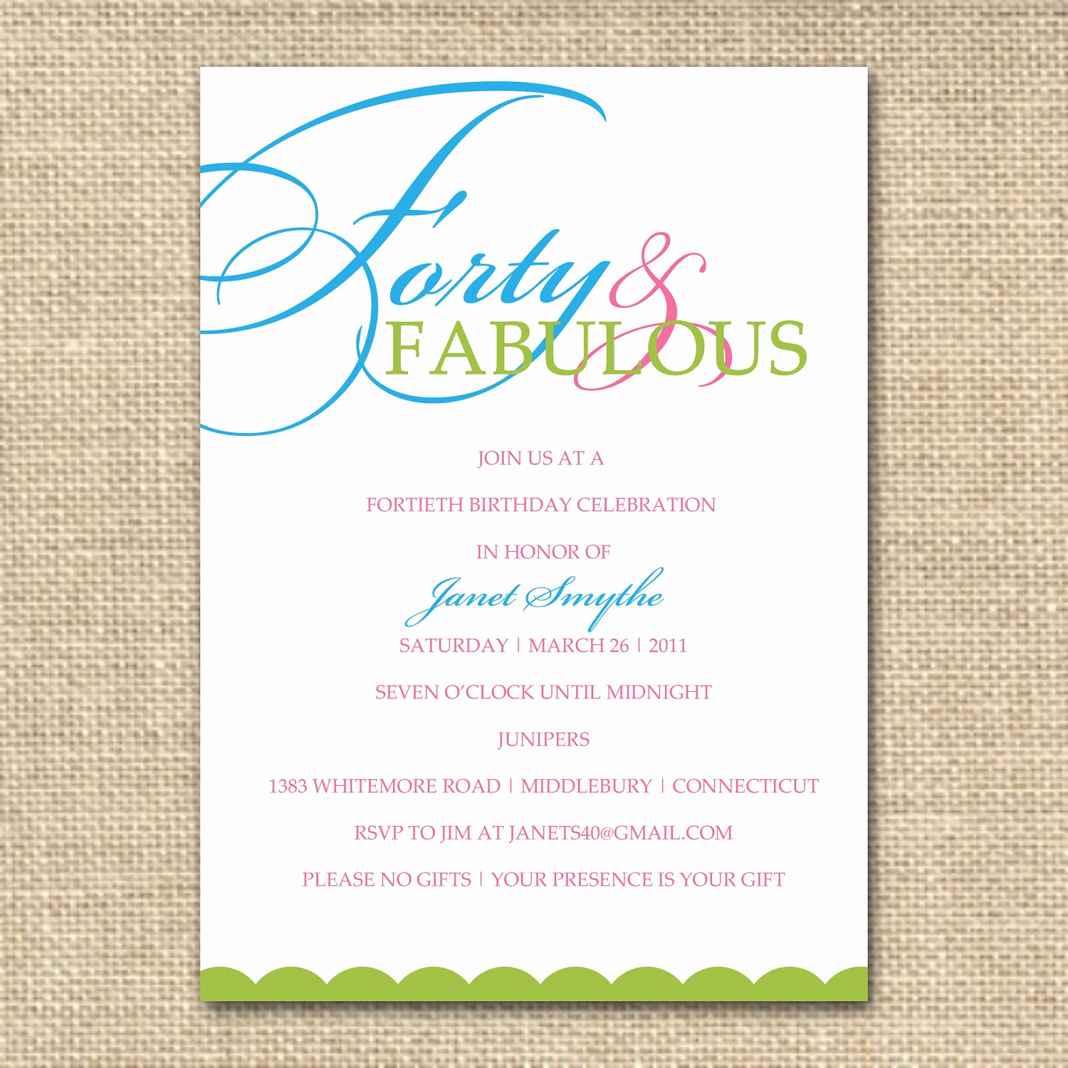 40th Birthday Invitation Wording Funny Luxury 40th Birthday Invitation Wording Designs Ideas