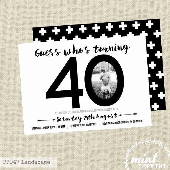 40th Birthday Invitation Wording Lovely Best 25 40th Birthday Invitations Ideas On Pinterest