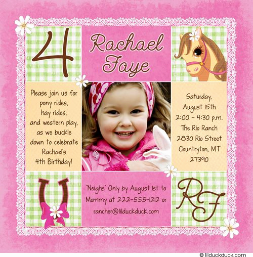 4th Birthday Invitation Wording Inspirational 4th Birthday Invitation Wording A Birthday Cake