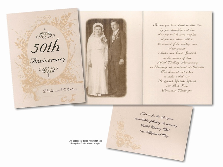 50th Anniversary Invitation Ideas Beautiful 1000 Images About 50th Wedding Anniversary Ideas On
