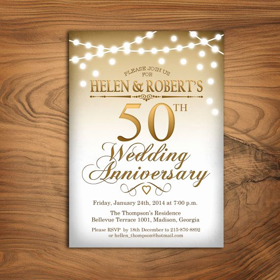 50th Anniversary Invitation Ideas Beautiful 25 Best Ideas About Anniversary Invitations On Pinterest