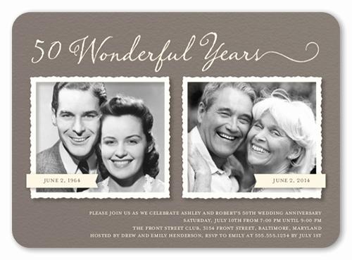 50th Anniversary Invitation Ideas Beautiful 50th Wedding Anniversary Party Ideas