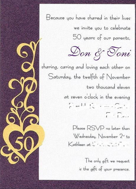 50th Anniversary Invitation Ideas Elegant Best 25 Anniversary Invitations Ideas On Pinterest