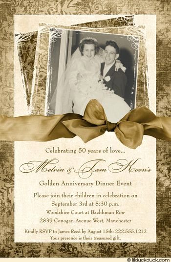 50th Anniversary Invitation Ideas Lovely 25 Best Ideas About Anniversary Invitations On Pinterest