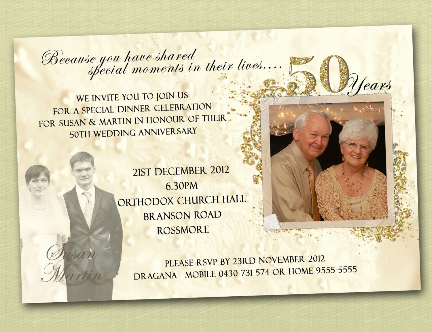50th Anniversary Invitation Template Lovely Anniversary Invitations Ideas 25th Anniversary