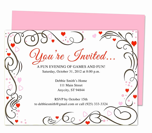 50th Anniversary Invitation Template New 9 Best 25th & 50th Wedding Anniversary Invitations