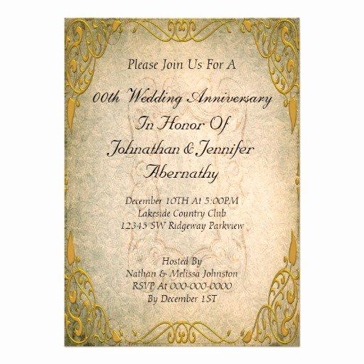 50th Anniversary Invitation Templates Luxury 50th Anniversary Invitation Backgrounds