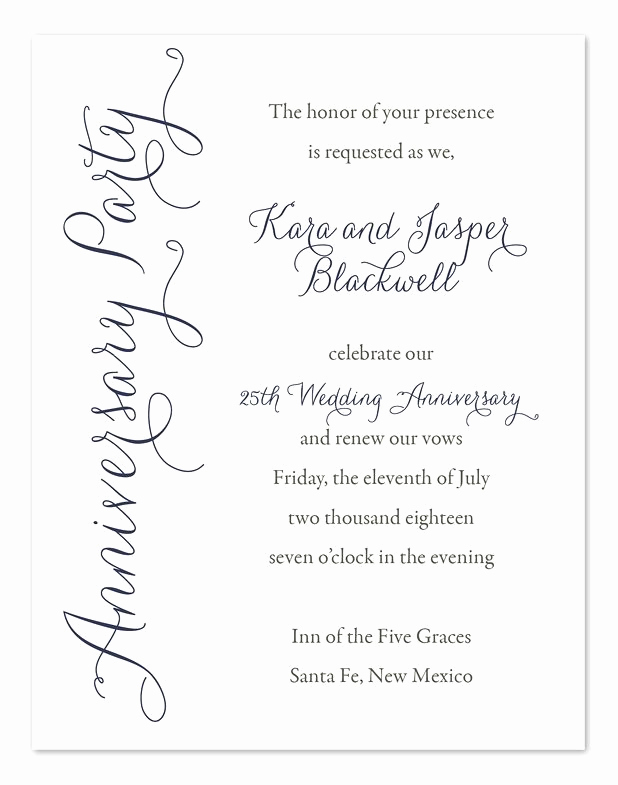 50th Anniversary Invitation Wording Best Of Best 25 Anniversary Invitations Ideas On Pinterest