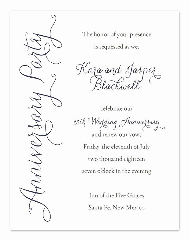 50th Anniversary Invitation Wording Best Of Best 25 Anniversary Invitations Ideas On Pinterest