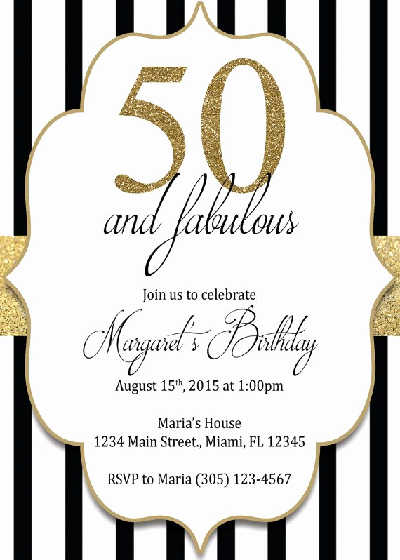 50th Birthday Invitation Ideas Awesome Best 20 50th Birthday Invitations Ideas On Pinterest