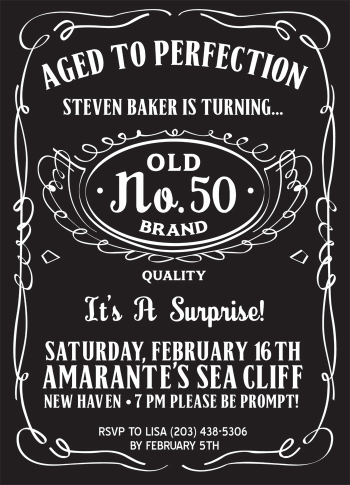 50th Birthday Invitation Ideas Beautiful 50th Birthday Party Invitations for Men