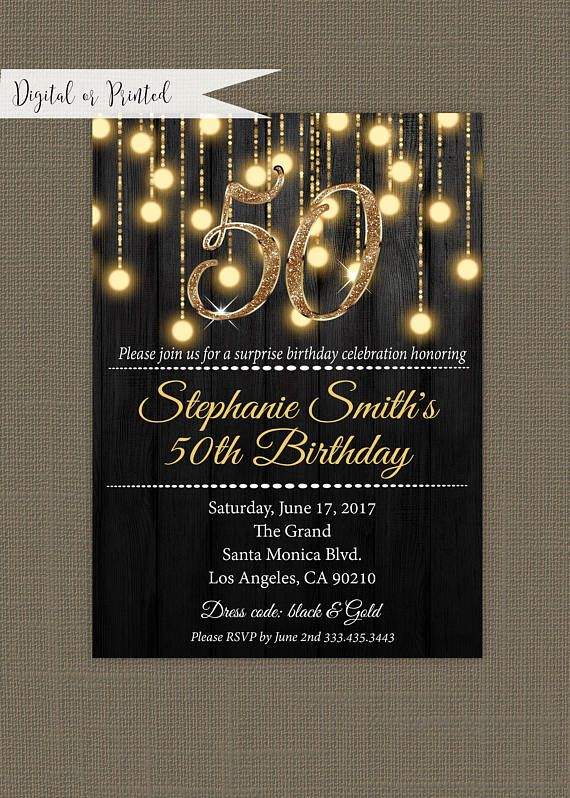 50th Birthday Invitation Ideas Lovely Best 25 50th Birthday Invitations Ideas On Pinterest