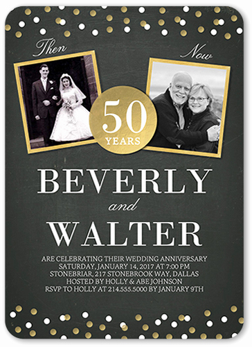 50th Birthday Invitation Ideas New 50th Wedding Anniversary Party Ideas
