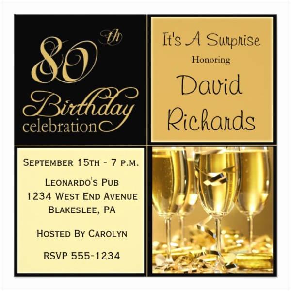 50th Birthday Invitation Template Inspirational 39 Lunch Invitation Designs & Templates Psd Ai