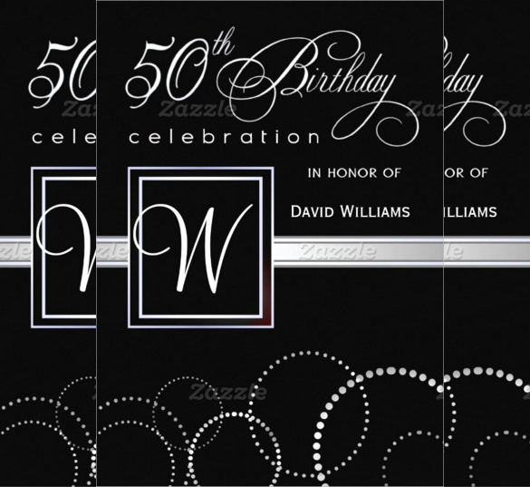 50th Birthday Invitation Template Inspirational 45 50th Birthday Invitation Templates – Free Sample