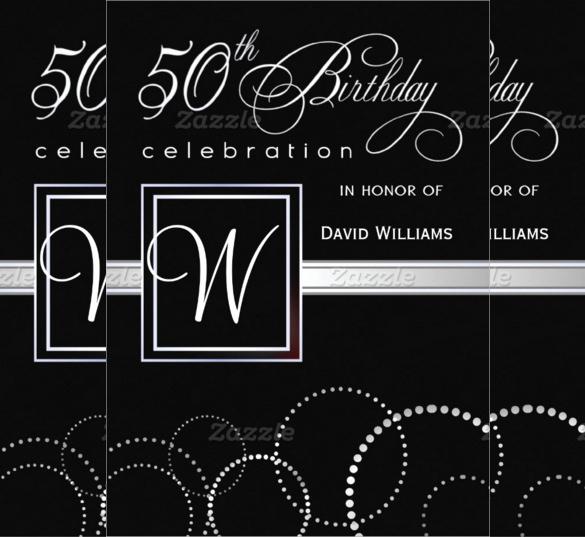 50th Birthday Invitation Templates Best Of 45 50th Birthday Invitation Templates – Free Sample