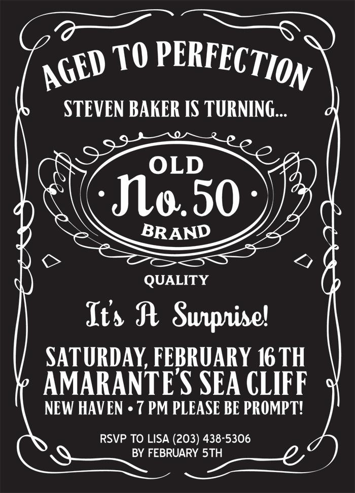 50th Birthday Invitation Templates Fresh 50th Birthday Party Invitations for Men