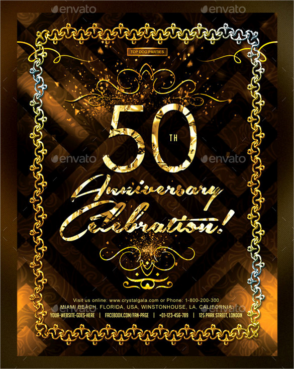 50th Birthday Invitation Templates New 45 50th Birthday Invitation Templates – Free Sample