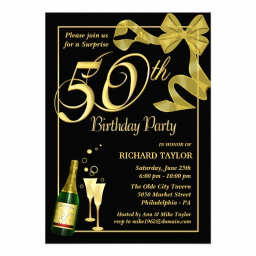 50th Birthday Invitation Templates Word Beautiful 50th Birthday Invitations Ideas – Free Printable Birthday