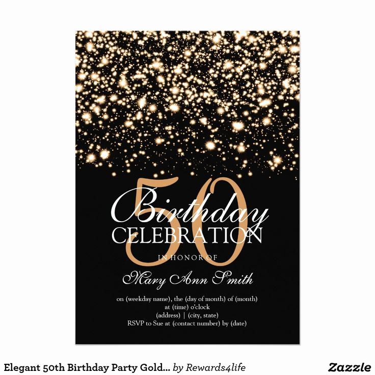 50th Birthday Party Invitation Ideas Awesome Best 25 50th Birthday Invitations Ideas On Pinterest