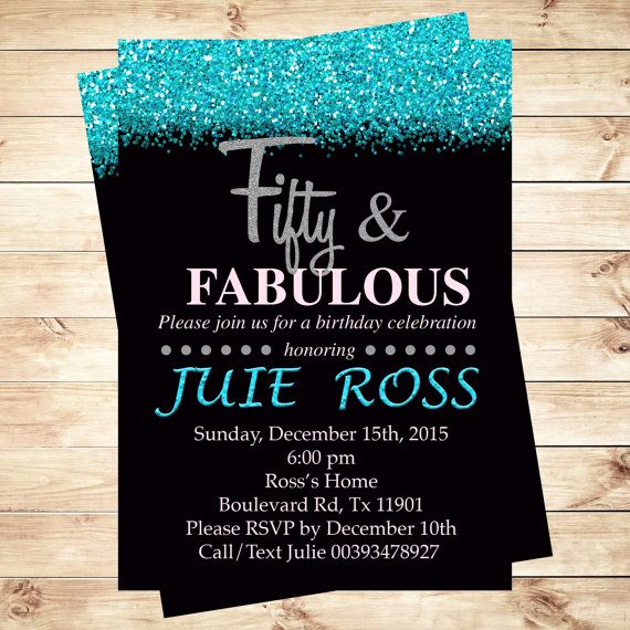 50th Birthday Party Invitation Ideas Best Of 25 Best Ideas About 50th Birthday Invitations On