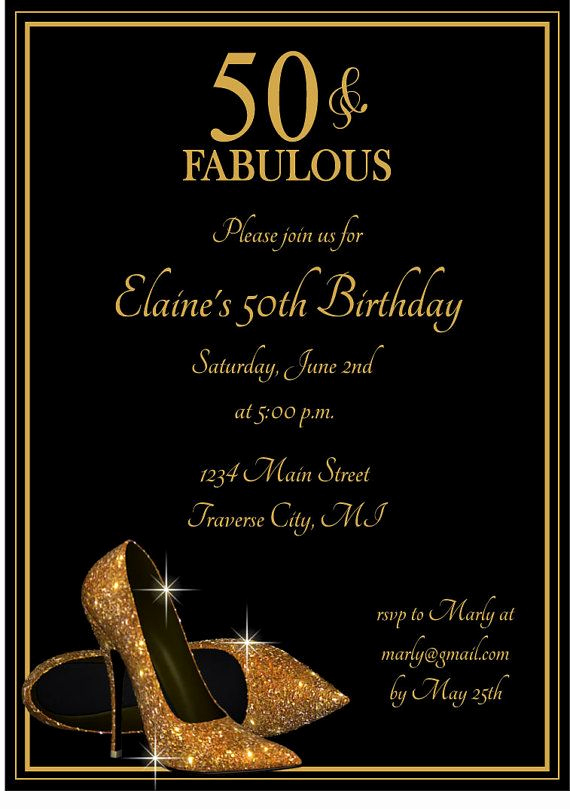 50th Birthday Party Invitation Ideas Best Of Best 25 50th Birthday Invitations Ideas On Pinterest