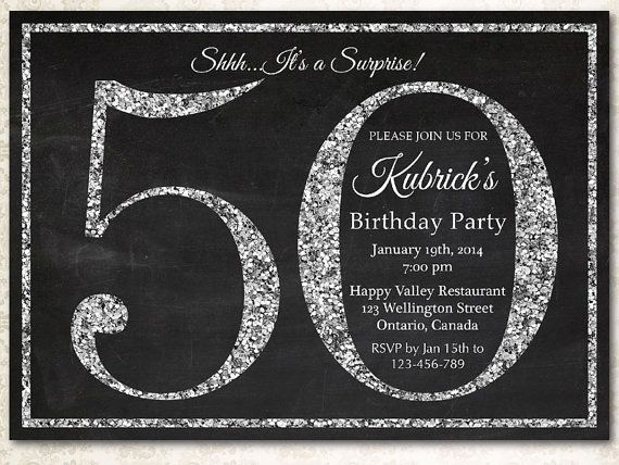 50th Birthday Party Invitation Ideas Best Of Ideas for 50th Birthday Invitations
