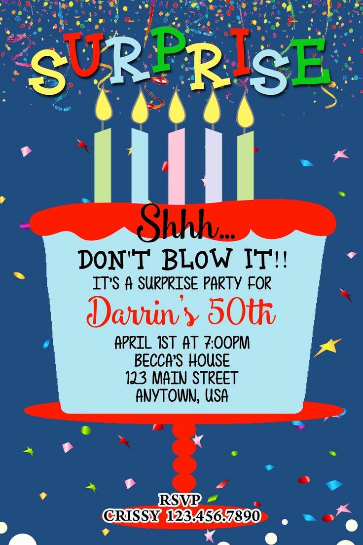50th Birthday Party Invitation Ideas Fresh Best 25 50th Birthday Invitations Ideas On Pinterest