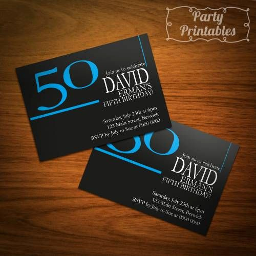 50th Birthday Party Invitation Ideas New Male 50th Birthday Invitation Ideas Party Ideas