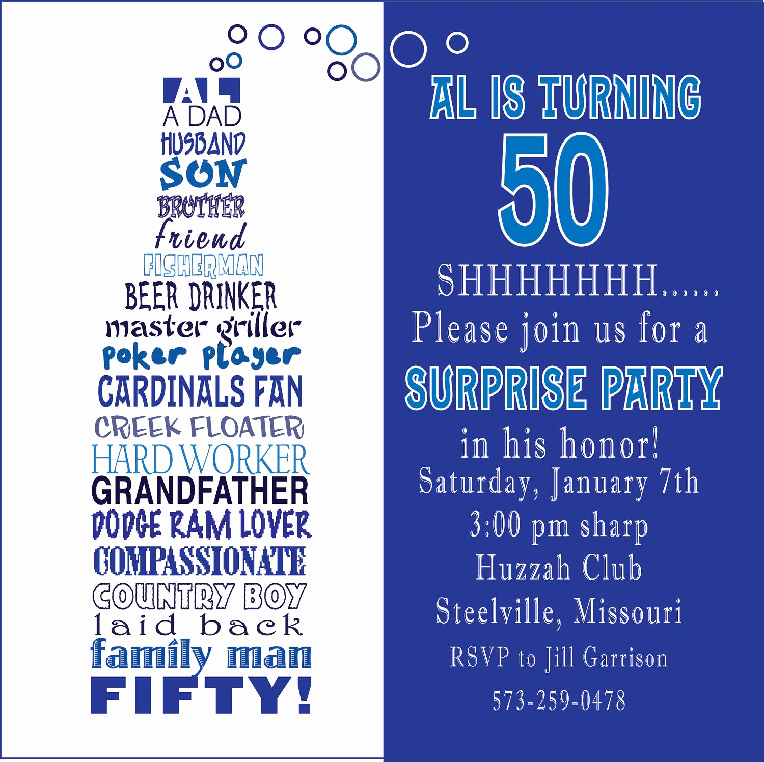 50th Birthday Party Invitation Wording Luxury Awesome Free Template Funny 50th Birthday Party Invitation