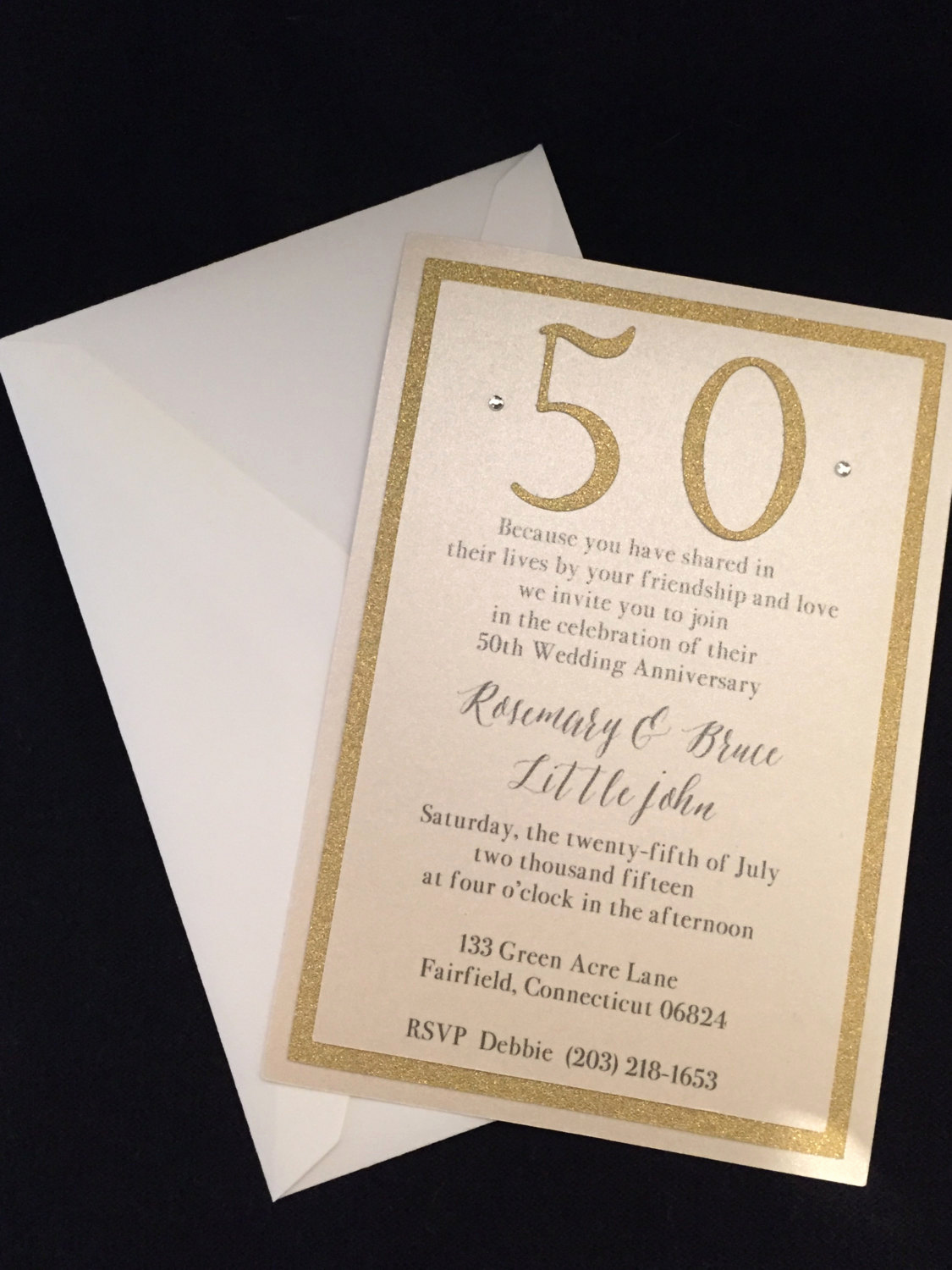 50th Wedding Anniversary Invitation Best Of 50th Wedding Anniversary Invitation