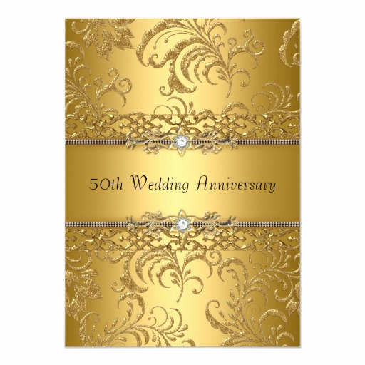 50th Wedding Anniversary Invitation Template Luxury 50th Wedding Anniversary Invites 6 000 50th Wedding