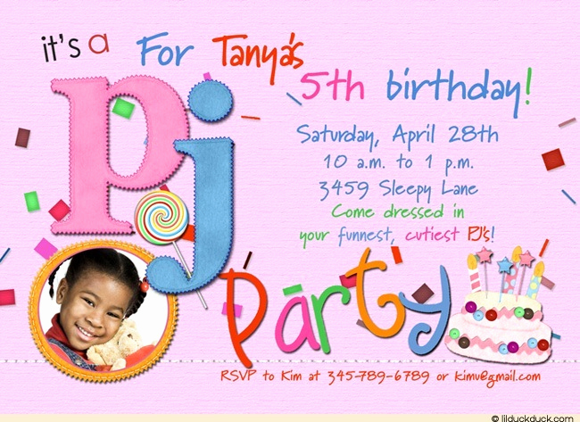 5th Birthday Invitation Message Beautiful 5th Birthday Invitation Wording