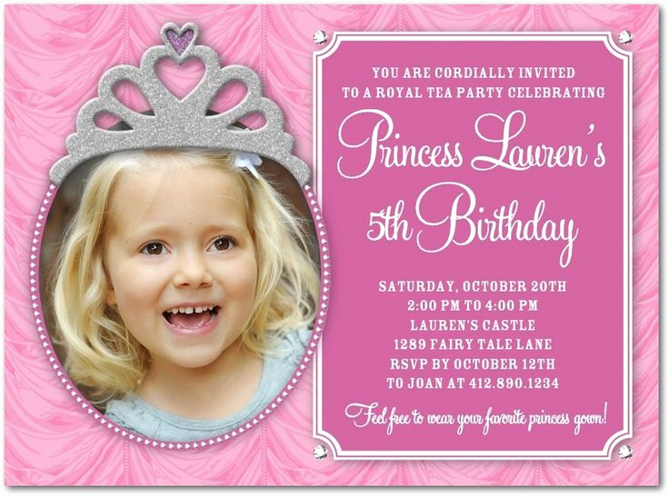 5th Birthday Invitation Message Inspirational 5th Birthday Invitation Cards