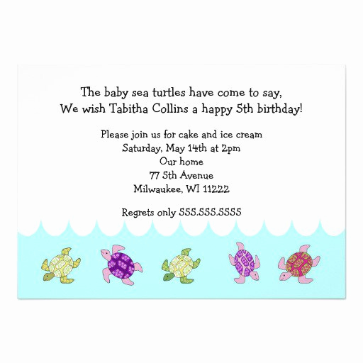 5th Birthday Invitation Message Unique 5th Birthday Invitation Wording