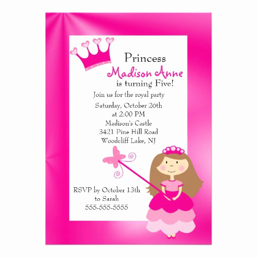 5th Birthday Invitation Wording Luxury 5th Birthday Invitation Rhymes
