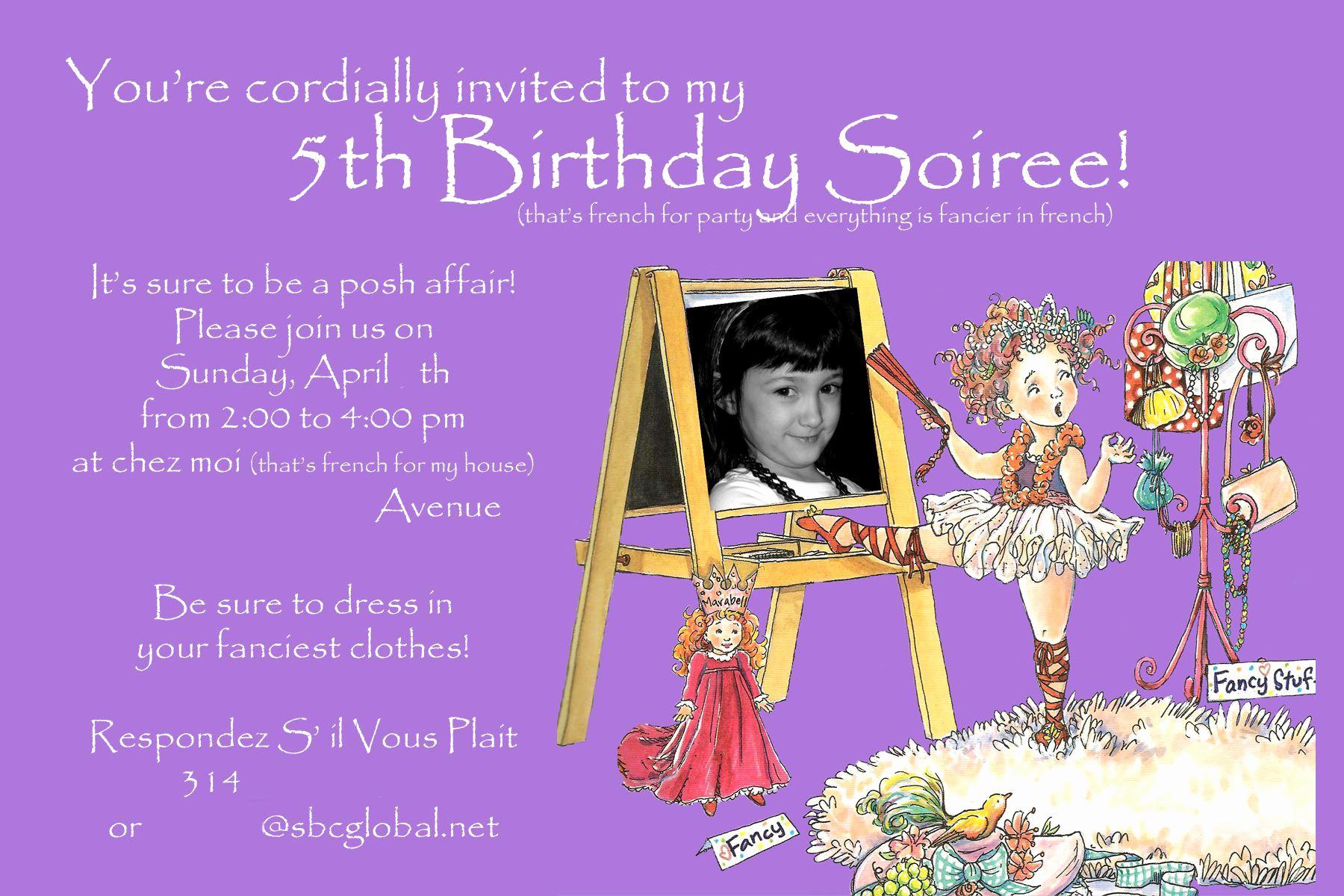5th Birthday Party Invitation Beautiful Birthday Invitation Card Maker Free