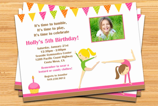 5th Birthday Party Invitation Best Of 15 Printable Birthday Party Invitations Word Psd Ai