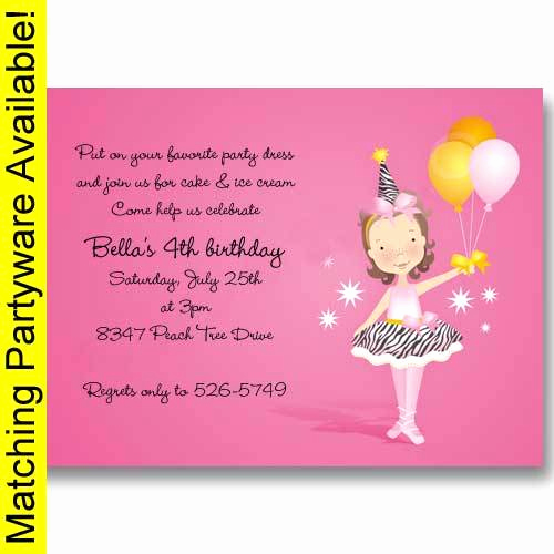5th Birthday Party Invitation Wording Fresh Birthday Invitations